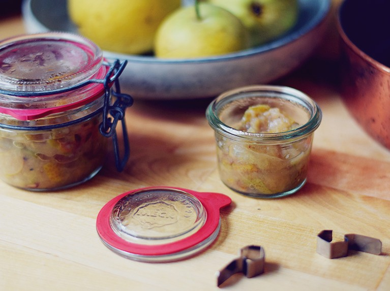 Pure Pear, Ginger & Cardamom Compote